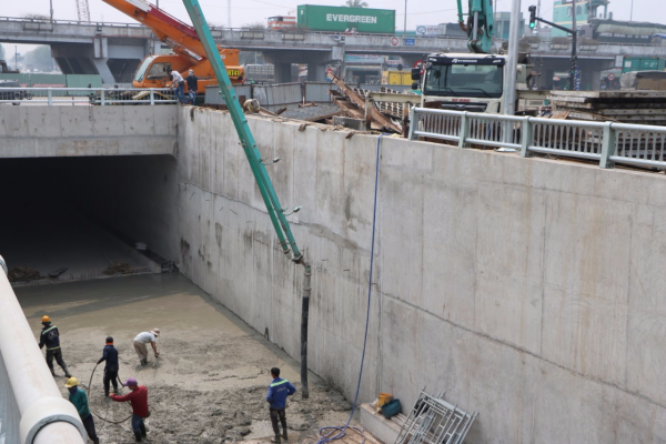 Hầm chui An Sương Q12 Tổng Công ty Thăng Long-CTCP, Công ty cổ phần xây dựng Nasaco
